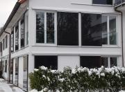 Schiebeläden-Glas-Winter